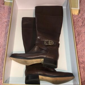 Brown MK boots